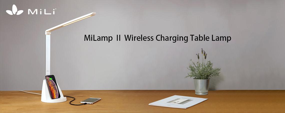 Đèn bàn kiêm đế sạc không dây MiLamp II - HL-S20